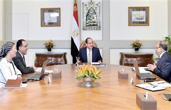 الرئيس السيسي يتابع الخطة التنفيذية لمنظومة إدارة المخلفات الصلبة ويوجه بدفع الجهود المبذولة لتفعيلها