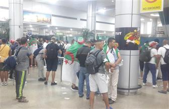 توافد الجماهير الجزائرية لمؤازرة منتخب بلادهم في بطولة كأس الأمم الإفريقية | صور