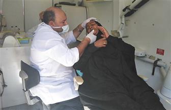 الكشف على 965 مواطنا في قافلة طبية مجانية بالدقانوة مركز المنزلة