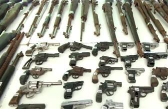 ضبط 25 قطعة سلاح ناري و4 كيلو بانجو بساحل سليم