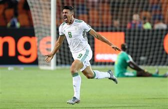 بونجاح يتقدم للجزائر على السنغال في نهائي كأس أمم إفريقيا
