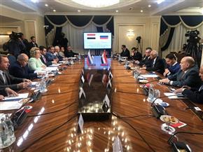 على هامش المنتدى الدولي الثاني للتطور البرلماني.. عبدالعال يلتقي رئيسة المجلس الفيدرالي الروسي | صور