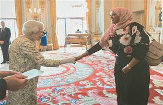 قنصلية مصر بلندن تهنئ المواطنة إيناس هلال بعد تكريمها من قبل الملكة إليزابيث