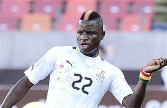 مبارك واكاسو أفضل لاعب في مباراة غانا وغينيا بيساو