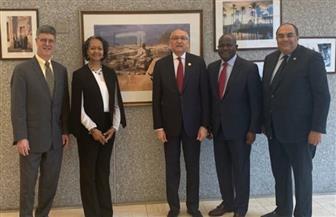 ندوة في السفارة المصرية بواشنطن عن تعزيز البنية الأساسية والاستثمار والتجارة بإفريقيا |صور