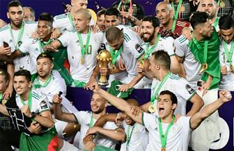 منتخب الجزائر يغادر القاهرة بعد التتويج بكأس الأمم الإفريقية