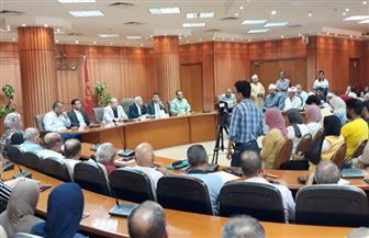 """""""الغضبان"""": الدولة أنفقت ٧٠ مليون جنيه في أربعة أيام لإزالة ورد النيل ببورسعيد"""