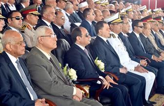 الرئيس السيسي يشهد حفل تخرج دفعة جديدة من طلبة كلية الشرطة