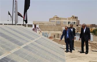 إقامة 11 محطة طاقة شمسية على أسطح مباني التربية والتعليم بقنا |صور