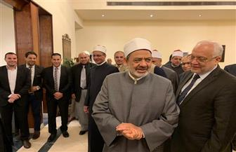 الإمام الأكبر يصل إلى القاهرة بعد رحلة علاجية استمرت أسبوعين