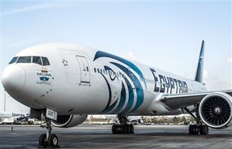 """""""مصر للطيران"""" تستعرض تطوير الخدمات للطائرات بالمطارات مع شركة """"EAS"""""""