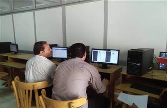 إقبال كبير على معامل جامعة حلوان في أول أيام تنسيق المرحلة الأولى | صور