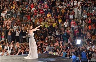 نانسي عجرم تنشر صور حفلها الغنائي في مهرجان جرش بالأردن