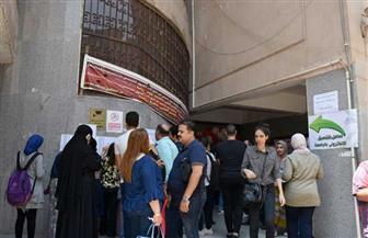 ٩٢٠ طالبا توافدوا على معامل التنسيق الإلكتروني بجامعة عين شمس| صور