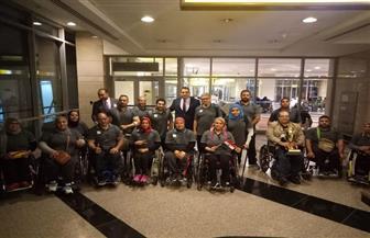وزارة الرياضة تستقبل منتخب مصر البارالمبي المشارك ببطولة العالم لرفع الأثقال بكازاخستان| صور