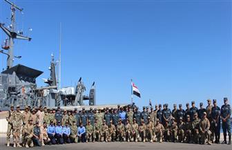 """انطلاق فعاليات التدريب البحري المصري الأمريكي المشترك """"تحية النسر - استجابة النسر 2019"""""""
