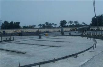 محافظ الشرقية يتابع سير أعمال إنشاء صوامع الغلال بالحسينية |صور
