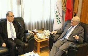 سفير مصر ببيروت يتابع أوضاع العمالة المصرية مع وزير العمل اللبناني