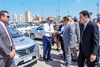 محافظ الإسكندرية يتفقد سيارات الضبطية القضائية لجهاز حماية المستهلك | صور