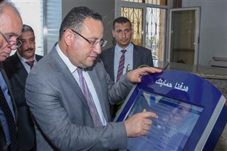 الإسكندرية تتسلم أول شاشة تفاعلية لجهاز حماية المستهلك لتلقي شكاوى المواطنين إلكترونيا