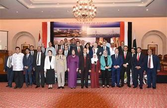السفارة المصرية في باكستان تحتفل بالعيد الوطني   صور