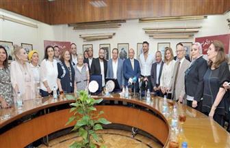 """صحيفة الأهرام تكرم أسرة فيلم """"الممر"""" في ذكرى ثورة 23 يوليو  صور"""