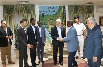 محافظ جنوب سيناء يناقش استعدادات شرم الشيخ لاستضافة اجتماع اللجنة التشاورية لبنك التنمية الإفريقي