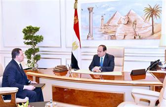 بسام راضي: الرئيس السيسي يلتقي وزير الداخلية   صور