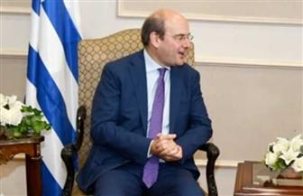 البترول تستقبل وزير الطاقة والبيئة اليوناني لتفعيل ودعم التعاون الثنائي