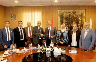 جامعة المنصورة تعقد برتوكولا لدراسة الطلاب الليبيين بكلية الطب بالدراسات العليا | صور