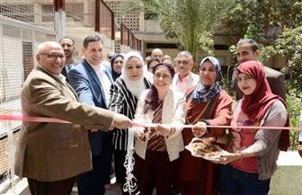 رئيس جامعة عين شمس يشهد افتتاح ملحق وقاعة ومدرج بكلية التمريض | صور