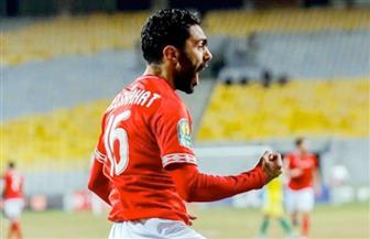 الشحات يضيف الهدف الثاني للأهلي في شباك المقاولون العرب