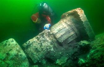 أغرق البحر معابدها وتماثيلها القديمة.. كيف تكونت بحيرة أبوقير؟ | صور