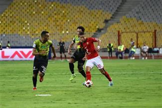 انطلاق مباراة الأهلى والمقاولون العرب بالدورى الممتاز