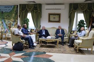 الشاذلي يستعرض الترتيبات النهائية لبطولة العالم بشرم الشيخ مع المحافظ
