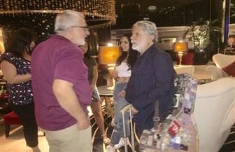 مارسيل خليفة يصل إلى عمان لإحياء حفله بمهرجان جرش الجمعة| صور