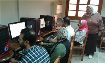 1100 طالب يسجلون رغباتهم بـ 7 معامل بجامعة الإسكندرية | صور