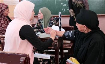 الكشف على 1227 مواطنا في قافلة طبية لأمن الإسكندرية بمساكن دربالة