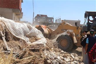 محافظ الشرقية: استرداد 100 فدان في اليوم الأول للموجة 13 لإزالة التعديات  صور