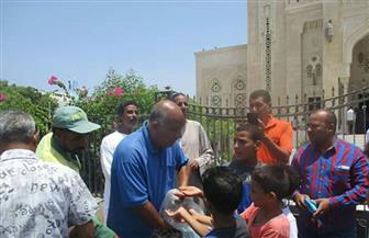 توزيع 2000 شنطة بديلة للأكياس البلاستيكية مجانا على مواطني الغردقة| صور