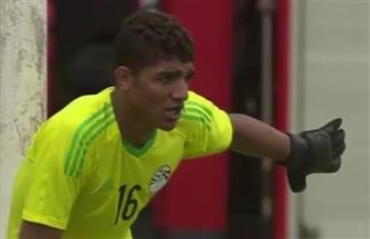 محمد صبحي أفضل حارس مرمى في أمم إفريقيا تحت 23 عاما