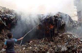 """تجدد اشتعال حريق منزل مهجور يثير قلق أهالي""""الصنافين"""" بالشرقية"""