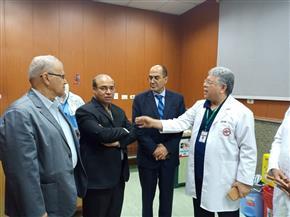 أعضاء لجنتي التعليم والصحة بمجلس النواب يزورون مؤسسة الكبد المصري | صور