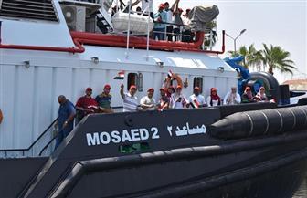 ممثلو التوعية للمياه يقومون بزيارة ميدانية لقناة السويس الجديدة
