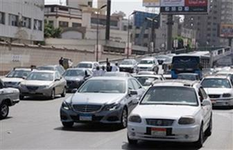 كثافات متوسطة بعدد من محاور القاهرة