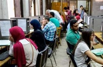 2350 طالبا يسجلون رغبات القبول بالجامعات بمعامل تنسيق جامعة عين شمس