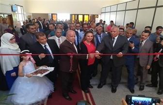 افتتاح أعمال التطوير التقني بمحكمة الوادي الجديد الابتدائية| صور