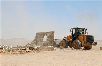 استرداد 599 فدانا من أراضي أملاك الدولة في مدينة قوص بقنا| صور