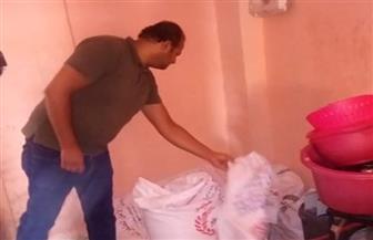 إعدام 48 كليو كبدة ولحم مفروم في حملة على المطاعم بمدينة الطود بالأقصر | صور