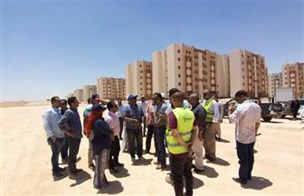 مساعد نائب رئيس هيئة المجتمعات العمرانية يتفقد مشروعات مدينة ناصر الجديدة